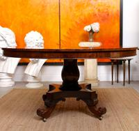 William IV Rosewood Breakfast Table Tilt Top Centre Dining Table (7 of 12)