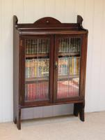 Oak Glazed Bookcase (9 of 10)