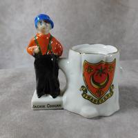 "Wiltshaw & Robinson ""Heraldic Souvenir China"" Spill Vase"