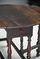 17th Century Oak Drop Leaf Table (7 of 12)
