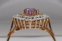 Vintage 9ct Gold Ring Set with Amethyst (2 of 4)