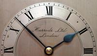 Oak Bracket Clock Supplied By Harrods (7 of 11)