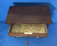 Victorian mahogany miniature chest of drawers (9 of 18)