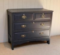 Pitch Pine Painted Chest of Drawers (2 of 11)
