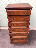 Antique Burr Walnut Chest on Chest (7 of 10)