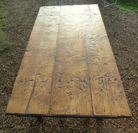 Antique Farmhouse Rustic / Industrial Table (2 of 9)