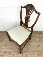 Set of Four 20th Century Mahogany Dining Chairs (7 of 10)