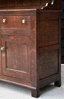 Beautiful 18th Century Georgian Oak Dresser/ Sideboard c.1770 (9 of 14)