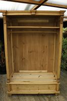 Fabulous & Large Old Pine Double 'Knock Down' Wardrobe - We Deliver! (11 of 18)