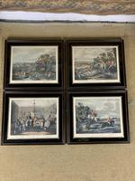 Set of Four 19th Century Hunting Prints (2 of 6)