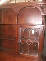 Old Charm Linenfold Lead Glazed Dresser (2 of 3)