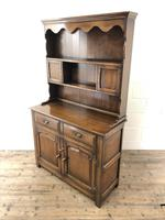 Quality Late 20th Century Oak Cottage Welsh Dresser (14 of 15)