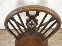 Set of Four Wheelback Dining Chairs (8 of 11)