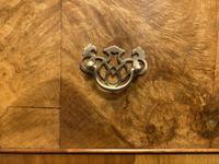 Burr Walnut Linen Press or Wardrobe (7 of 9)