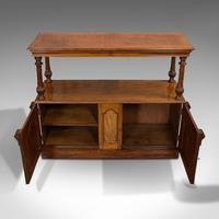 Large Antique Buffet, English, Walnut, Server, Sideboard, William IV c.1830 (8 of 12)