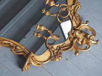 Victorian French Giltwood Girandole Mirror (6 of 10)