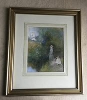 Thomas Mackay Watercolour 'The Time of Roses' (2 of 3)