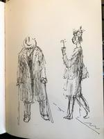 Original Sketchbook of Pencil Drawings, Pen Drawings and Watercolours by Helmut Petzsch - 1987-1989 (12 of 19)