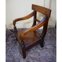 Scottish Vernacular Laburnum Childs Chair (5 of 5)