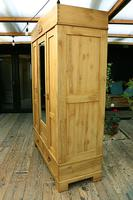 Fabulous & Large Old Pine Triple 'Knock Down' Wardrobe - We Deliver! (4 of 12)