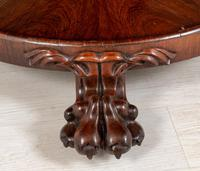 William IV Rosewood Flip Top Centre Table (3 of 9)