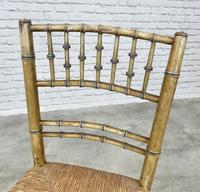 Regency Faux Bamboo Side Chair (4 of 6)