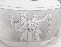 Antique Victorian Sterling Silver Teapot with Scenes 1871 (10 of 14)