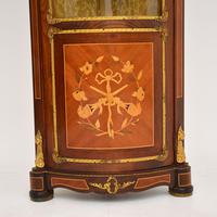 French Inlaid  Marquetry Corner Cabinet (5 of 8)