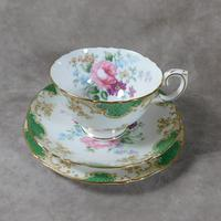 Crown Staffordshire, Fine Bone China Trio, Pattern No F15971 (2 of 9)