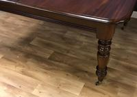Good Quality Victorian Mahogany Dining table with additional Leaf (5 of 11)