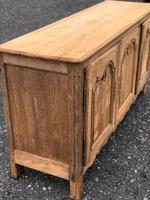 French Bleached Oak Dresser Base (2 of 12)