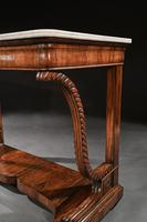 Pair Of Early 19th Century Italian Walnut And Marble Top Console Tables (6 of 10)