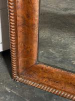19th Century French Burr Walnut Wall Mirror (10 of 19)
