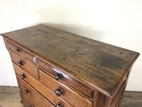 Antique Welsh Oak & Mahogany Chest of Drawers (7 of 15)