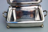 Scarce Regency Silver Old Sheffield Plate Cheese / Bacon Dish c.1820 (8 of 11)