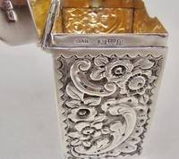 Victorian Silver Patience Card Box by Nathan & Hayes, Chester 1900 (8 of 11)