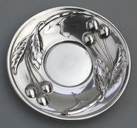 Eduard Friedman - Extremely Rare 800 Solid Silver Vienna Cup & Saucer 1900 (7 of 15)