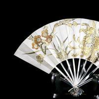 Vintage Japanese Solid Silver Fan Sensu/o-gi c.1960 (4 of 14)