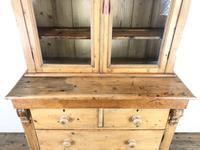 Antique Victorian Pine Dresser with Glazed Top (4 of 13)
