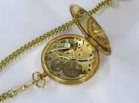 1930s Tempo Pocket Watch & Chain (2 of 4)