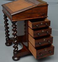William IV Flame Mahogany Davenport Desk (14 of 18)
