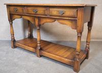 Oak Period Style Dresser Base - Royal Oak Furniture (3 of 10)