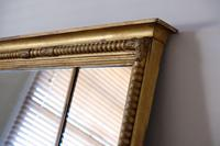 Gilt Framed Three Section Overmantle Mirror (2 of 19)