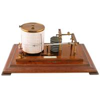 Edwardian Oak Cased Barograph (5 of 8)