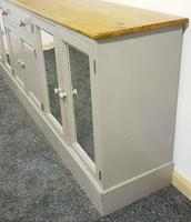 20th Century Large Sideboard Painted. (3 of 8)