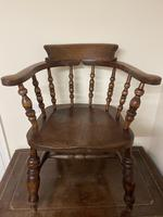Victorian Ash & Elm Smokers Chair (2 of 10)