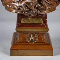Superb Quality 19th Century French Bronze & Marble Sculpture by Eutrope Bouret (6 of 15)