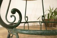 """A 20th Century French Iron and Marble """"orangerie"""" Centre - Garden Table (3 of 13)"""