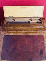 Walnut and Ambonya Davenport Desk (7 of 15)