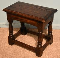 Charles II Style Oak Joint Stools (5 of 7)
